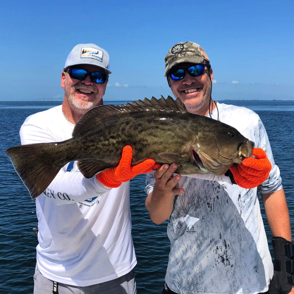 fish here in the Tampa Bay area